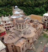 сербский монастырь Хилендар
